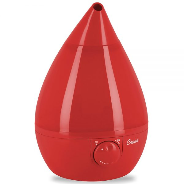 Crane Drop Shape Cool Mist Humidifier - Red
