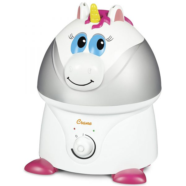 "Crane Adorable Cool Mist Humidifier - ""Misty the Unicorn"""