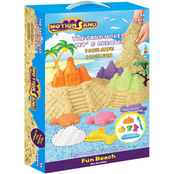 Motion Sand Deluxe Box - Fun Beach Playset