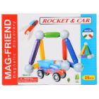 Mag-Friend Magnetic Discovery - Rocket & Car