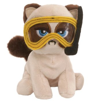 "Gund - Grumpy Cat Box O Grump Fishing 4.5"" Plush Toy"