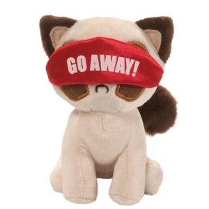 "Gund - Grumpy Cat Box O Grump Nighty Night 4.5"" Plush Toy"