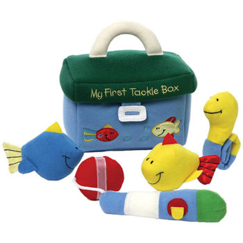 Gund - My 1st Tackle Box Stuffed Baby Playset