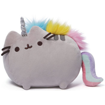 "Gund - Pusheenicorn Stuffed Pusheen Plush Unicorn, 13""L"