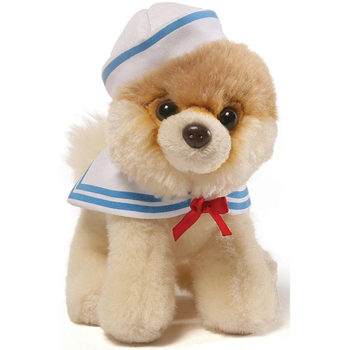 "Gund - Itty Bitty Boo Sailor Stuffed Dog 5"" Plush"