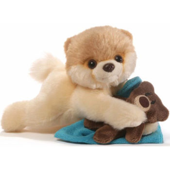 "Gund - Itty Bitty Boo Bedtime Stuffed Dog 5"" Plush"