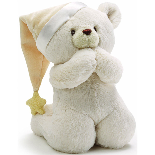 Gund - Prayer Teddy Bear Musical Baby Stuffed Animal