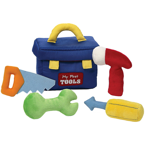 Gund - My 1st Toolbox Stuffed Baby Playset - Sensory Discovery