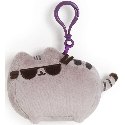 Gund - Pusheen Sunglasses Backpack Clip Stuffed Animal