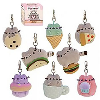 Gund - Pusheen Surprise Plush Blind Box Series #1 Surprise (w/ silver keychain)