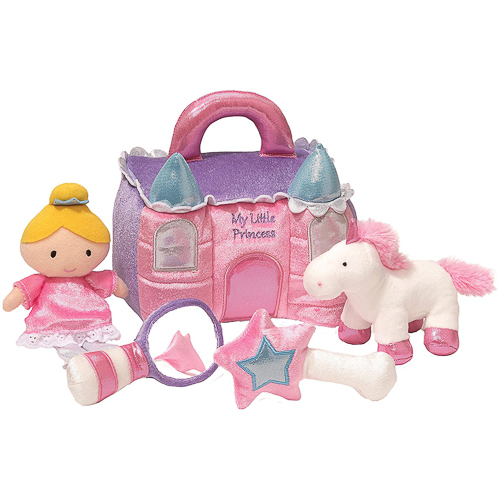 Gund - Baby Princess Castle Playset Toy, 8-inch