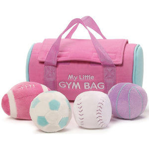 Gund - My Little Gym Bag Playset