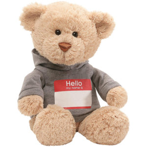 Gund - Hello My Name Is T-Shirt Stuffed Teddy Bear