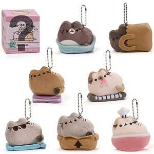 Gund - Pusheen Surprise Plush Blind Box Series #3 Places Cats Sit