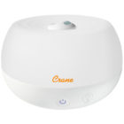 Crane - 2-in-1 Personal Cool Mist Humidifier with Aroma Diffuser - White