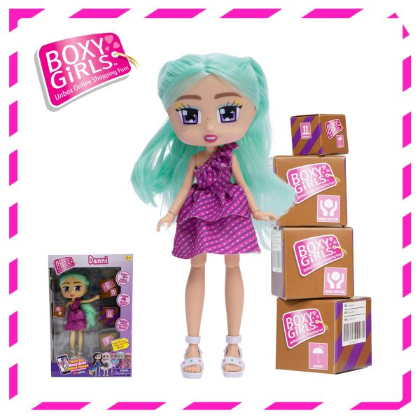 Boxy Girls 1399 Dani Doll with Surprise Fashion Accessories - Series 3