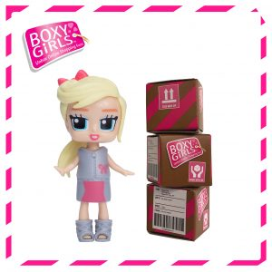 Boxy Girls 485IT Coco Mini Doll with Surprise Fashion Accessories