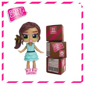 Boxy Girls 486IT - Lina Mini Doll with Surprise Fashion Accessories