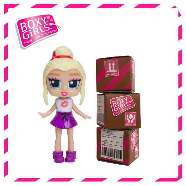 Boxy Girls 488IT Ellie Mini Doll with Surprise Fashion Accessories