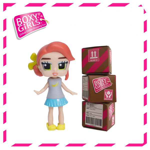 Boxy Girls 489IT Bee Mini Doll with Surprise Fashion Accessories