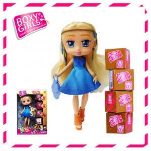 Boxy Girls 761IT Willa Doll with Surprise Fashion Accessories - Series 1