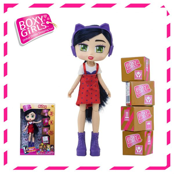 Boxy Girls 763IT Riley Doll with Surprise Fashion Accessories