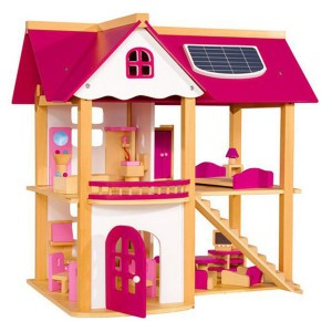 Young Mindz Pink Doll House