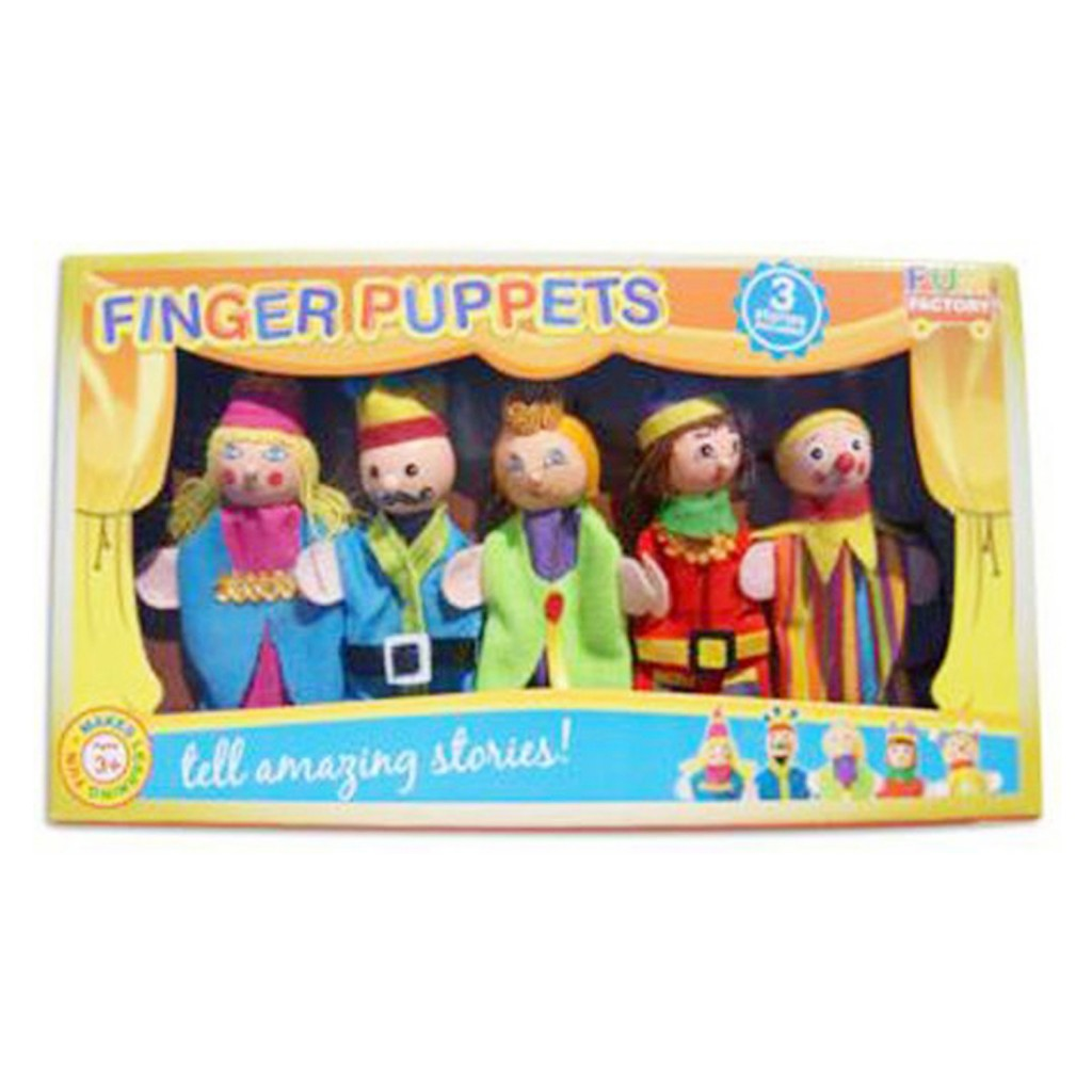 Young Mindz King and Queen Finger Puppets