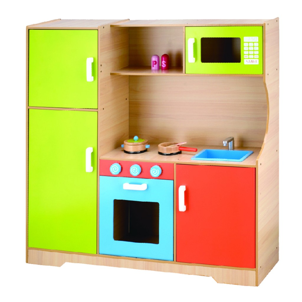 Young Mindz Wooden Deluxe Kitchen Playset