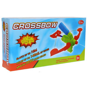 Super Crossbow Soaker Summer Toy Water Gun Pistol Bath Toys for Kids Outdoor Sports