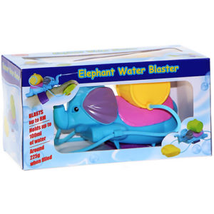 Elephant Soaker Summer Toy Water Gun Pistol Bath Toys for Kids