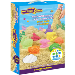 Motion Sand Deluxe Box - Sea Creature Playset