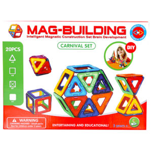 20pcs. Mag-Building Carnival Set