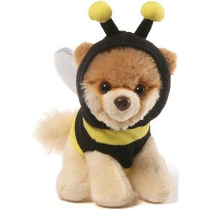 "Gund - Itty Bitty Boo Bee Stuffed Dog 5"" Plush"