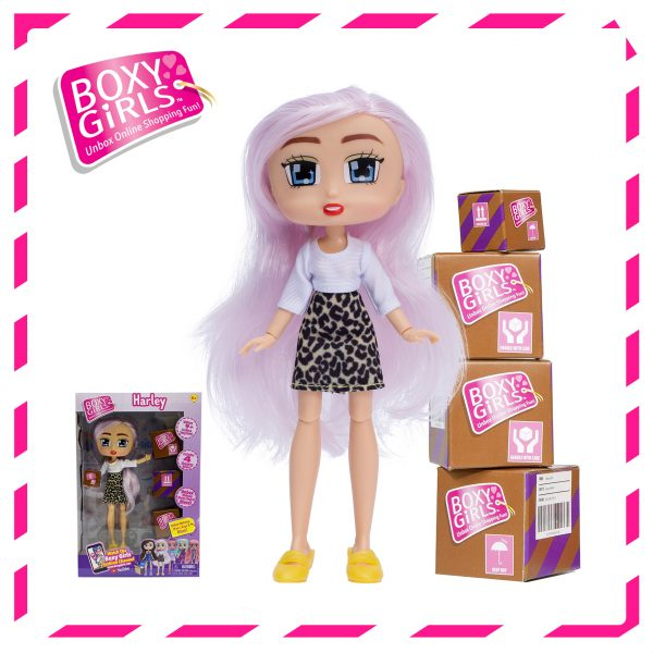 Boxy Girls 1393 Harley Doll with Surprise Fashion Accessories - Series 3