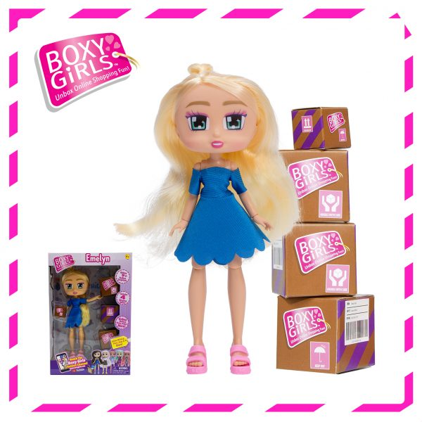 Boxy Girls 1397 Emelyn Doll with Surprise Fashion Accessories - Series 3