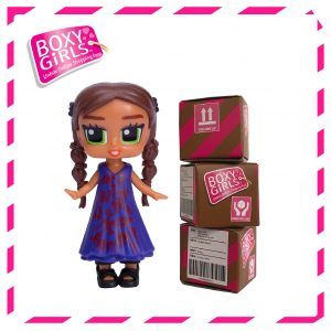 Boxy Girls 484IT Tasha Mini Doll with Surprise Fashion Accessories