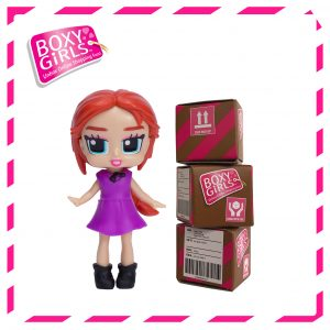 Boxy Girls 487IT Trinity Mini Doll with Surprise Fashion Accessories