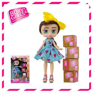 Boxy Girls 762IT Brooklyn Doll with Surprise Fashion Accessories - Series 1
