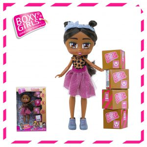 Boxy Girls 764IT Nomi Doll with Surprise Fashion Accessories - Series 1